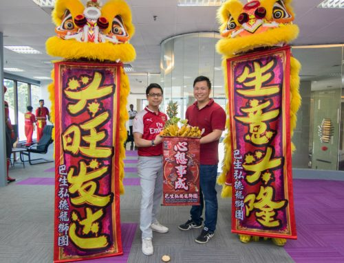 Seeder Holdings Celebrates Office Move with Lion Dance Blessing